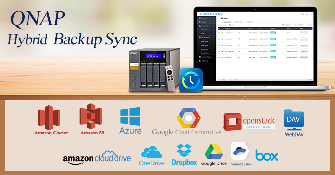 QNAP Releases All-In-One Hybrid Backup Sync for Efficient